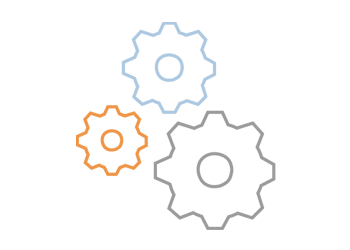 Cogs convey understanding of enterprise architecture