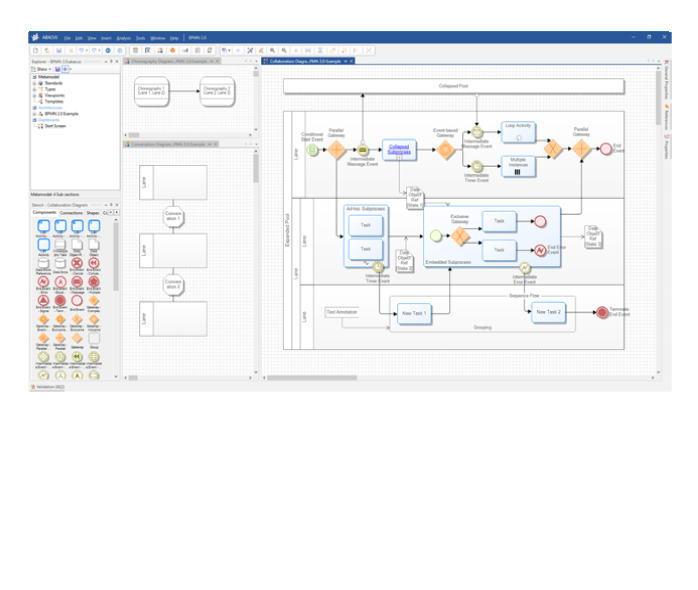 Modeling and Roadmapping in ABACUS Enterprise Architecture