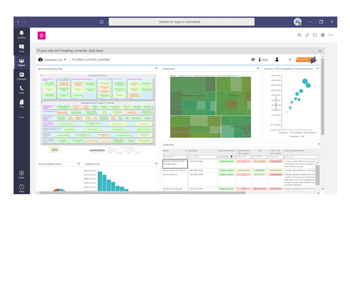 Integrate ABACUS Enterprise Architecture in Microsoft Teams